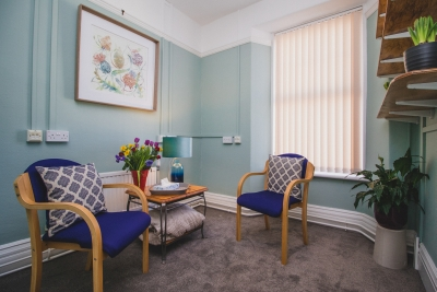 Talking Therapy room